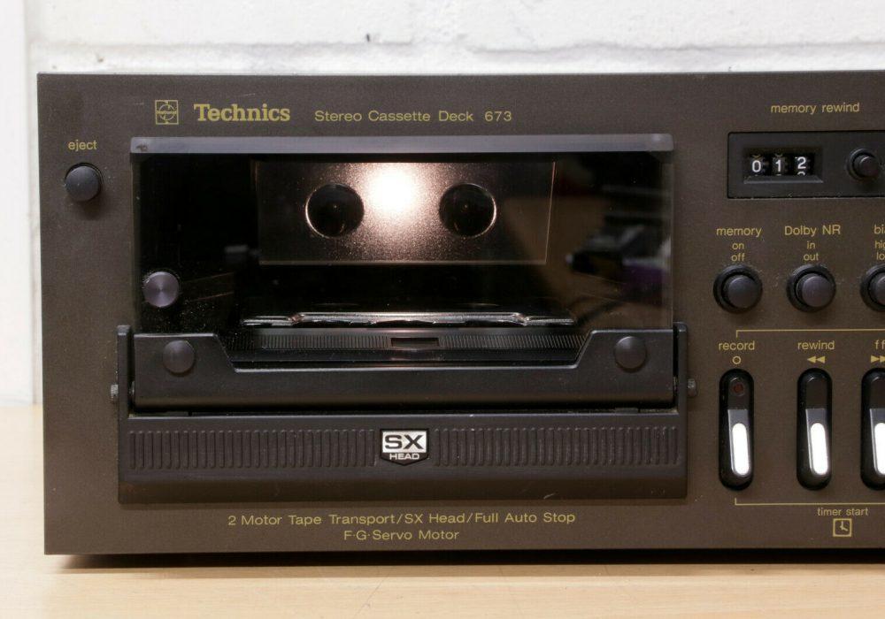 松下 Technics RS-673 卡座 1979