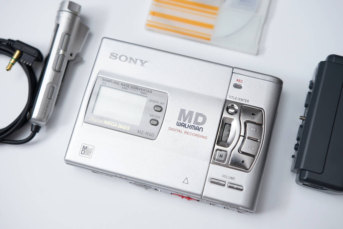 SONY MZ-R50 MD WALKMAN MD随身听