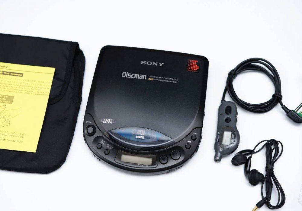 SONY D-223 DISCMAN CD随身听