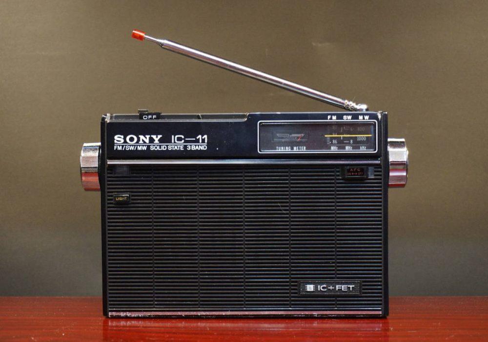 SONY ICF-11 收音机