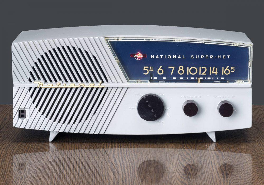 NATIONAL UX-475 SUPER-HET 电子管收音机