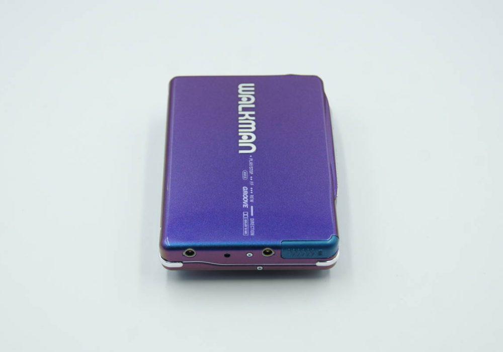 ◆動作極美品◆SONY WM-EX9 ソニーウォークマン カセットプレーヤー ブルー