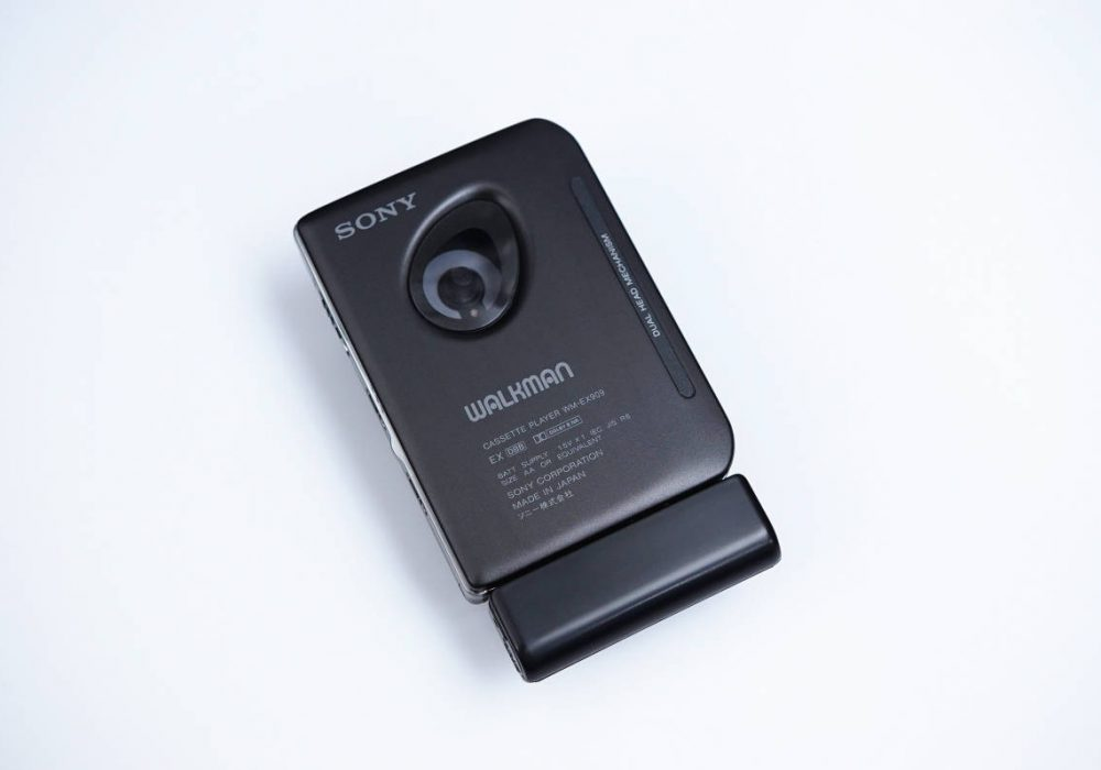 ★新品同様★ SONY ソニー WALKMAN ポータブルカセットプレイヤー WM-EX909 BLACK