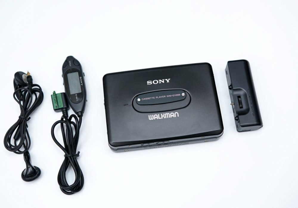 SONY ソニー WALKMAN ポータブルカセットプレイヤー WM-EX999 BLACK