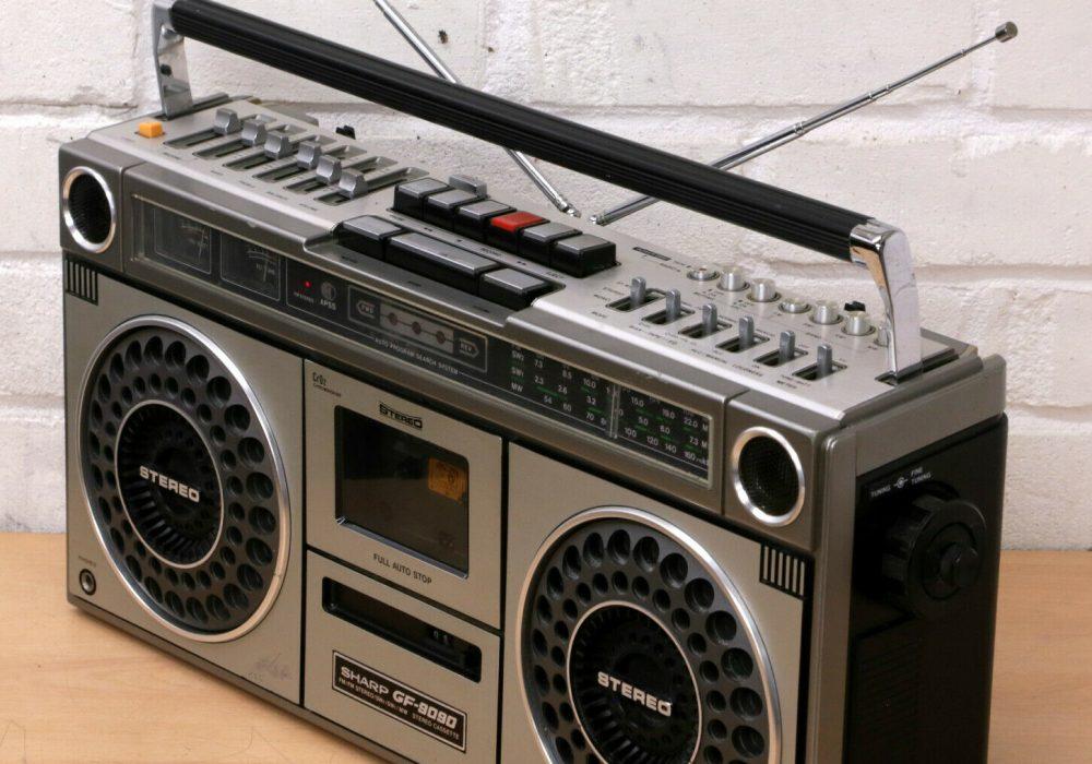 SHARP GF-9090X 立体声 收录机 (1978)