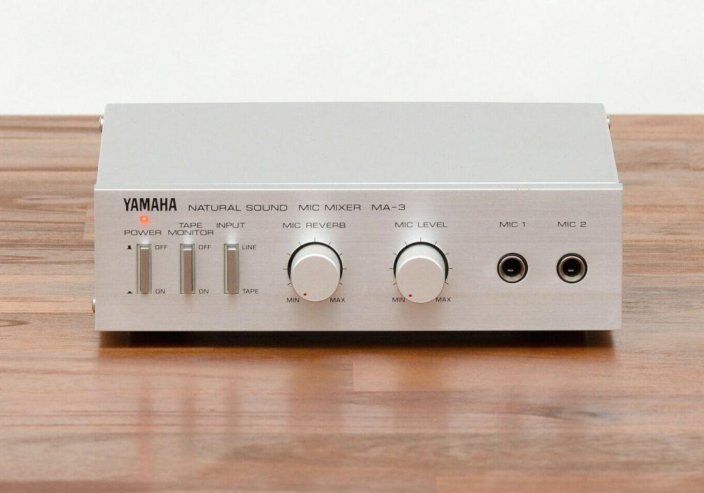 雅马哈 YAMAHA MA-3 MIC Mixer