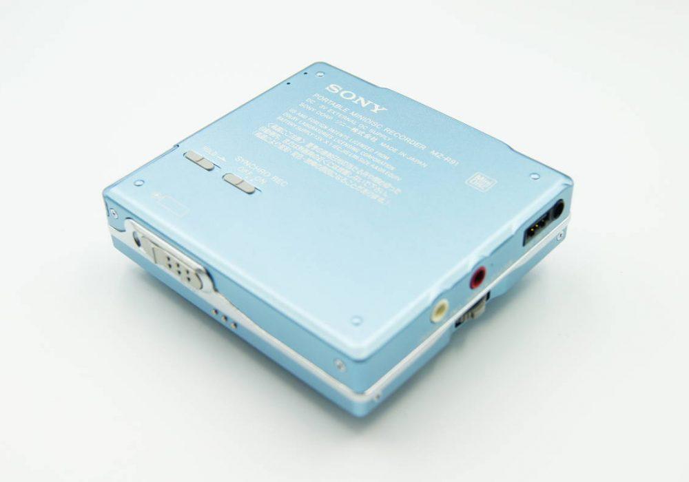 ◆新品同様◆SONY MZ-R91 ソニー MDウォークマン ポータブルMDレコーダー 20周年記念モデル