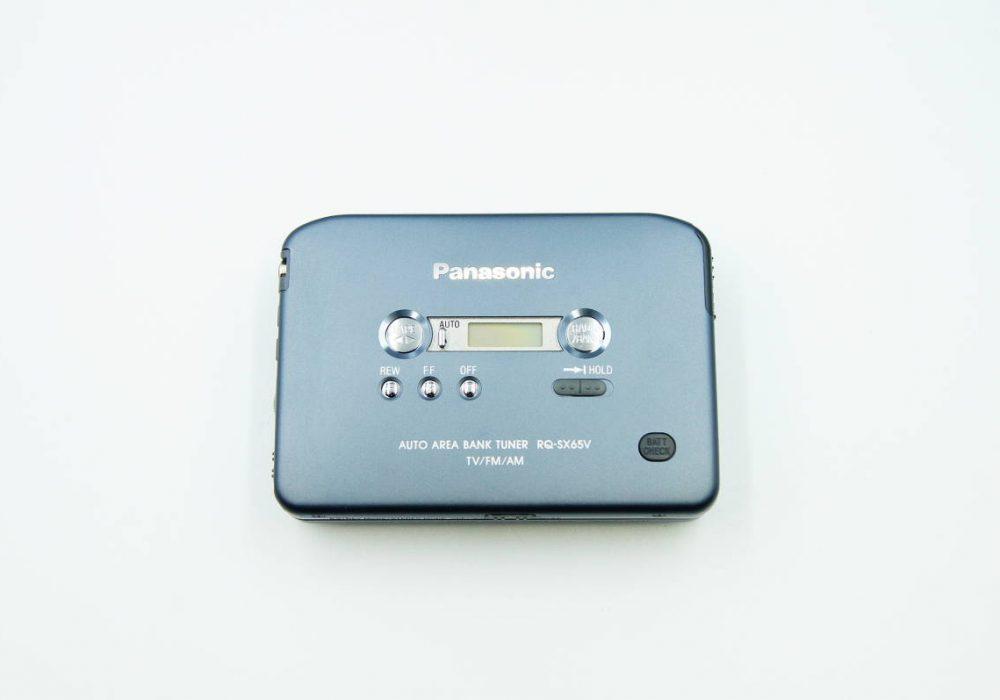 ◆新品同様◆Panasonic RQ-SX65V-K パナソニック ステレオラジオカセットプレーヤー