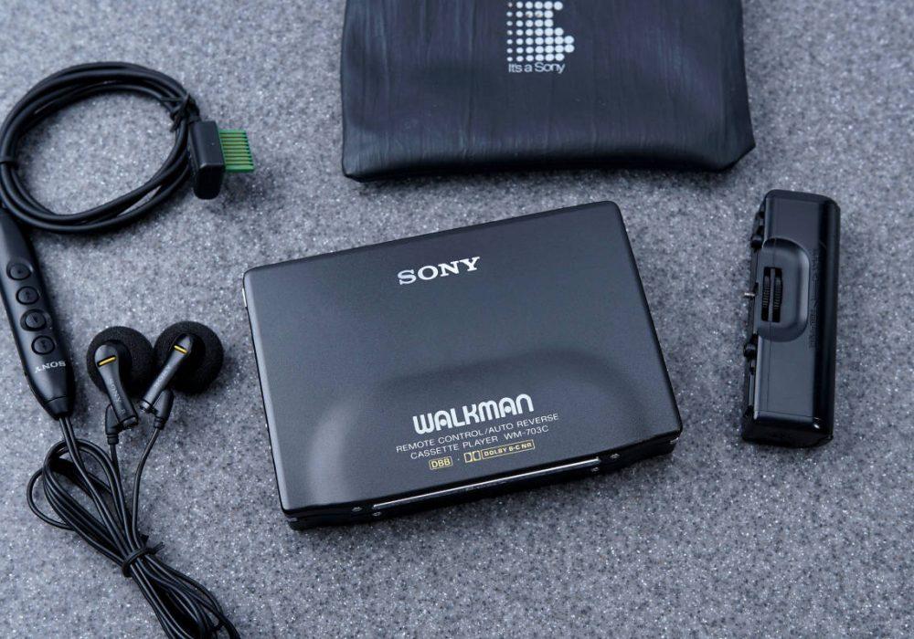 SONY ソニー WALKMAN ポータブルカセットプレーヤー WM-703C