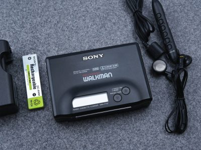 SONY ソニー WLAKMAN ポータブルカセットプレイヤー WM-F707 BLACK