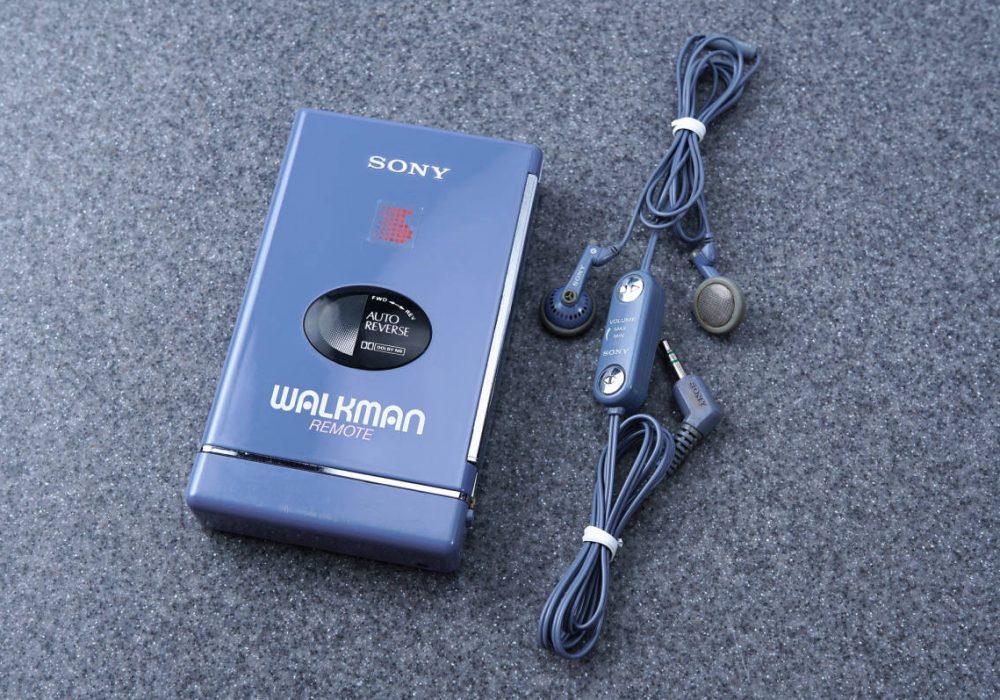 SONY ソニー WLAKMAN ポータブルカセットプレイヤー WM-109 BLUE