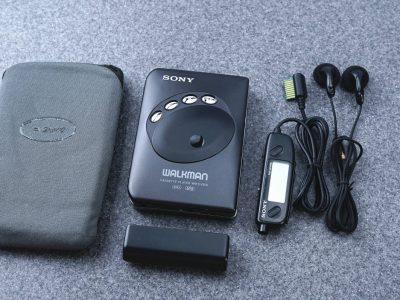 SONY ソニー WLAKMAN ポータブルカセットプレイヤー WM-EX909 BLACK