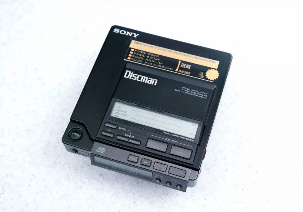 索尼 SONY D-Z555 DISCMAN CD随身听