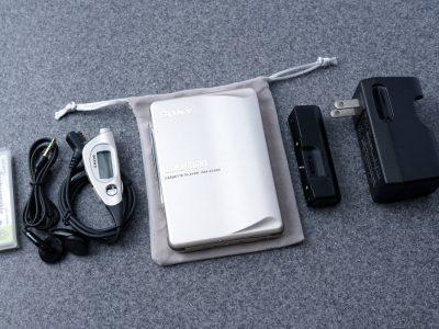 索尼 SONY 索尼 WLAKMAN ポータブルカセットプレイヤー WM-EX900 シルバー