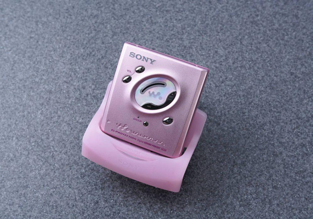 ★新品同様★ SONY ソニー WALKMAN ポータブルMDプレーヤー MZ-E505 PINK