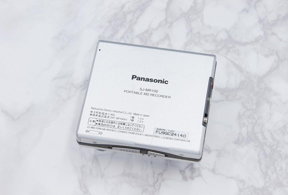 松下 Panasonic SJ-MR100 MD随身听