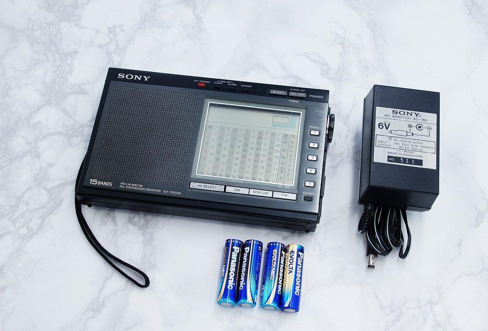 SONY ICF-7600DA FM/LW/MW/SW1-12 15BAND 便携收音机