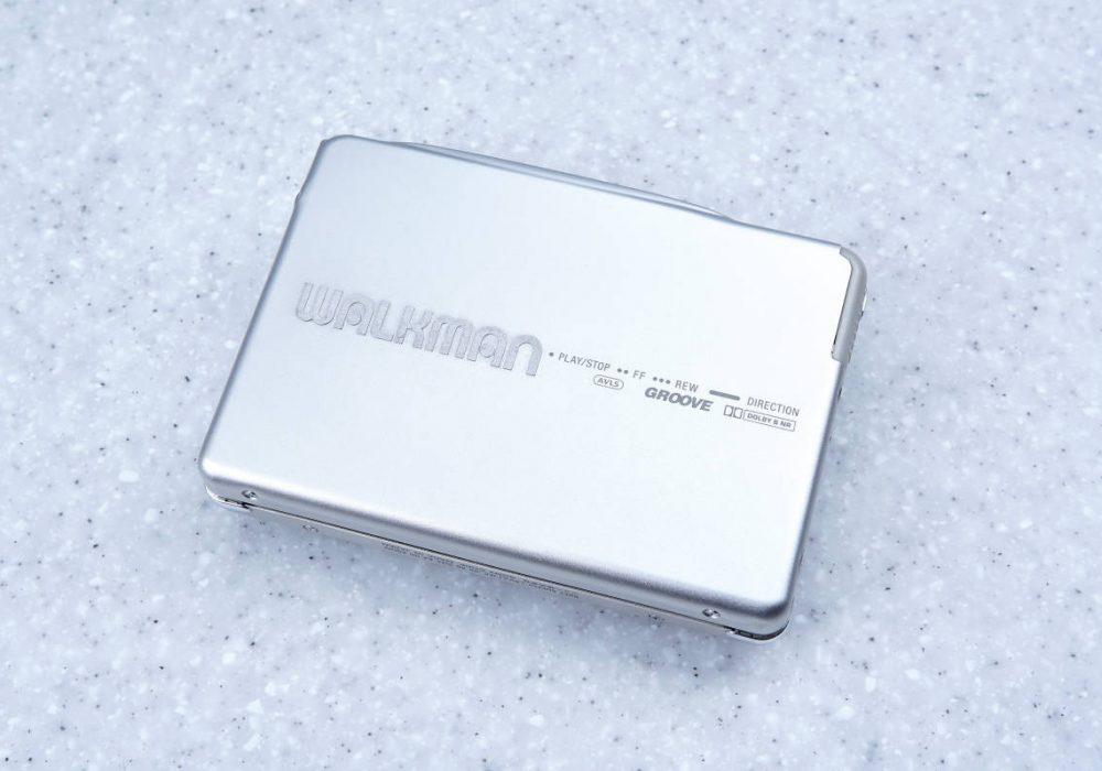 ★美品・訳アリ★ SONY ソニー WALKMAN ポータブルカセットプレーヤー WM-EX9 シルバー