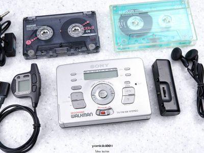 SONY ソニー WALKMAN ポータブルカセットプレイヤー WM-RX822 シルバー