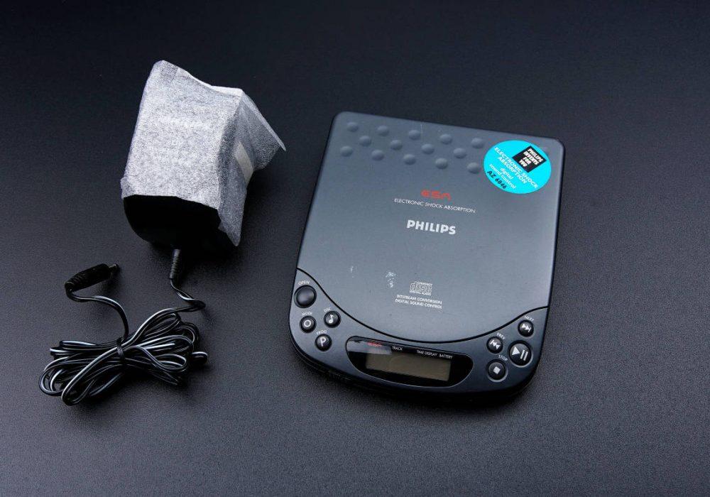 PHILIPS CD PLAYER AZ 6846/06 CD随身听