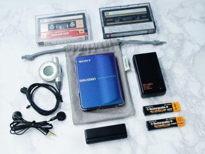 ◆動作極美品◆SONY WALKMAN WM-EX9 ソニー ウォークマン カセットプレーヤー レインボーカラー