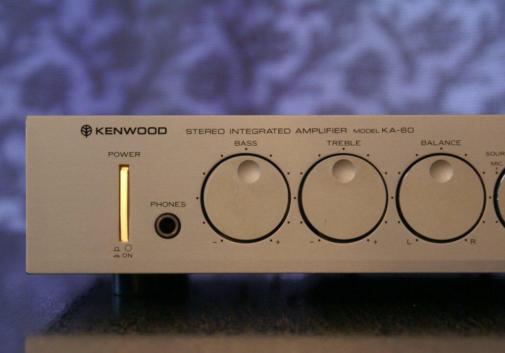 KENWOOD KA-60 合并式功放