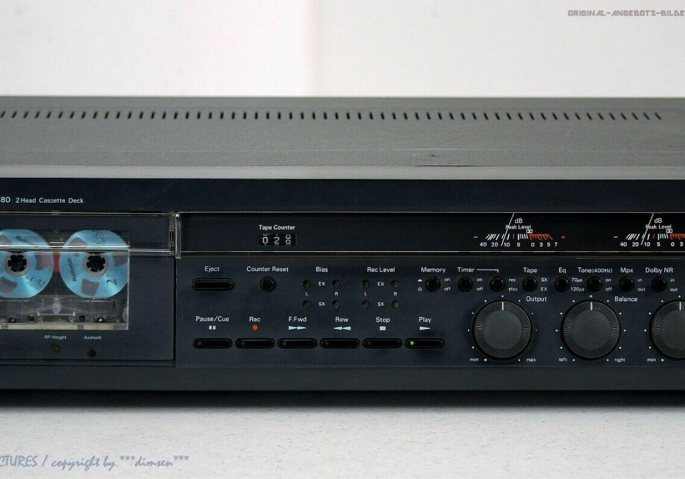 Nakamichi 580 High-End 磁带卡座