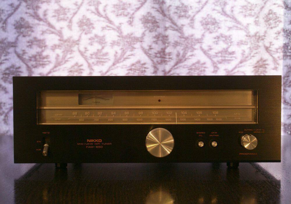 Nikko FAM-650 收音头