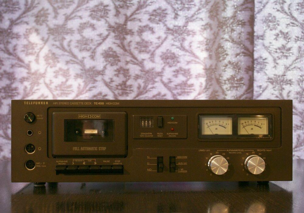 Telefunken TC-450 卡座