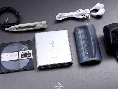 ★極美品・動作×★ Victor ビクター ポータブルMDプレーヤー XM-C11 シルバー