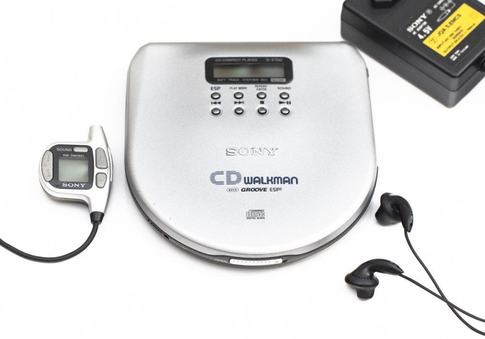 索尼 SONY DE-700 Discman CD播放机 CD随身听