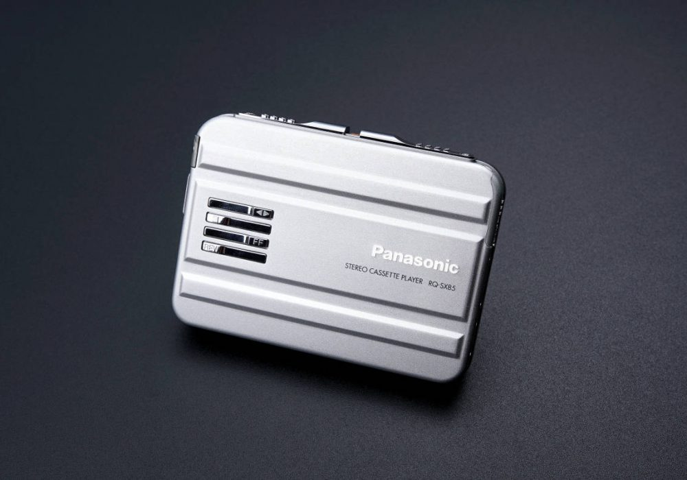 ★新品同様・動作〇★ Panasonic パナソニック ポータブルカセットプレーヤー RQ-SX85 シルバー 付属一式