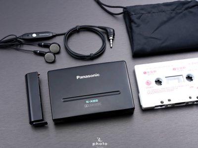 ★極美品・動作〇★ Panasonic パナソニック ポータブルカセットプレーヤー RQ-S3 BLACK