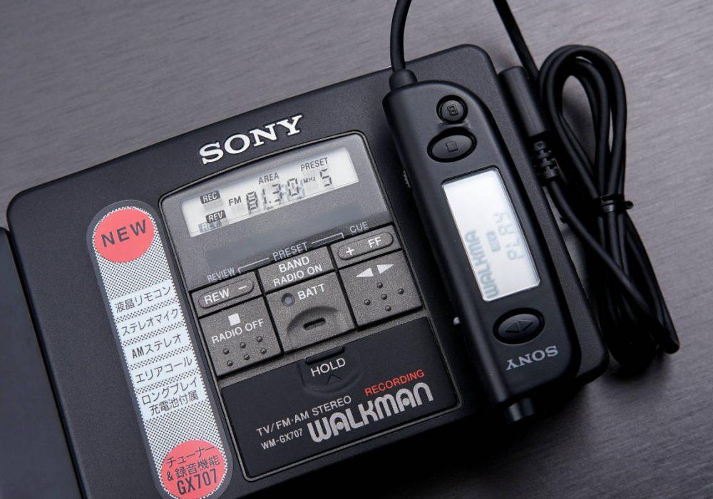 索尼 SONY高機能録再専用機 WALKMAN便携カセット播放器 WM-GX707