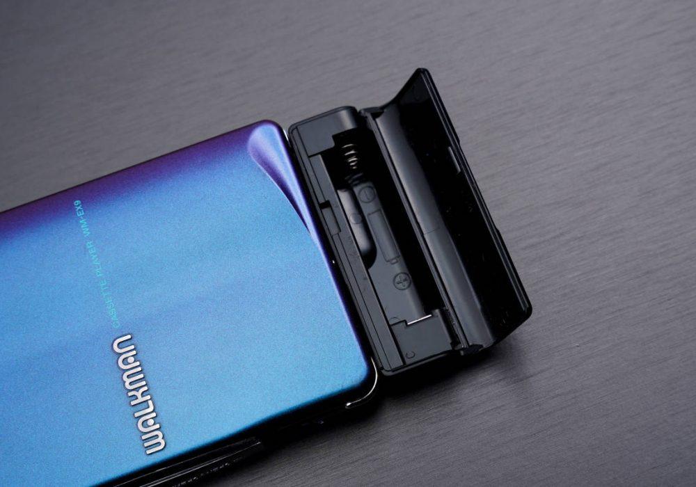索尼 SONYWALKMAN便携カセット播放器 WM-EX9 マルチ BLUEカラー