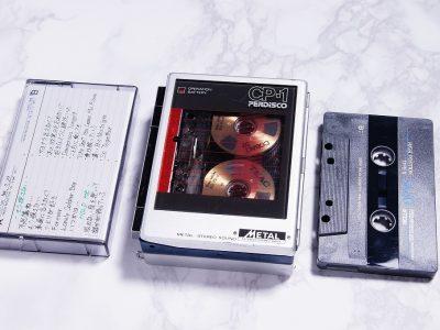 ◆美品◆HITACHI CP-1 日立 ステレオカセット播放器 メタル
