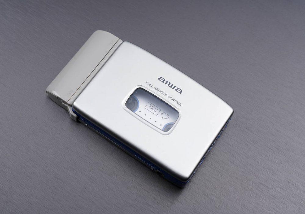aiwa アイワ便携カセット播放器 HS-PX370 シルバー 附属一式