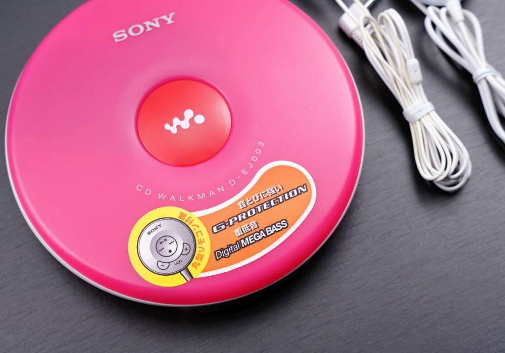 索尼 SONY D-EJ002 便携CD播放器 CD随身听