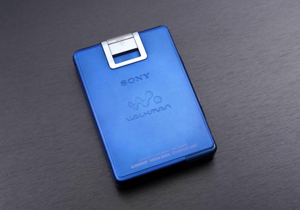 美品索尼 SONYWALKMAN 高音質便携カセット播放器 WM-EX910 BLUE