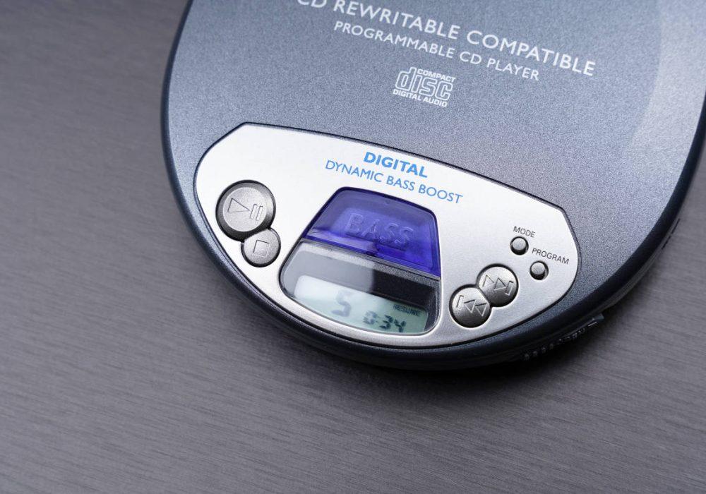 PHILIPS AX1101/01 便携CD播放器 CD随身听