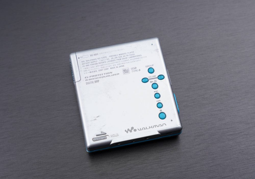 索尼 SONY MZ-E620 MD WALKMAN 便携 MD播放器