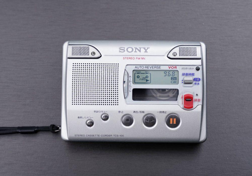 SONY TCS-100 磁带录音机