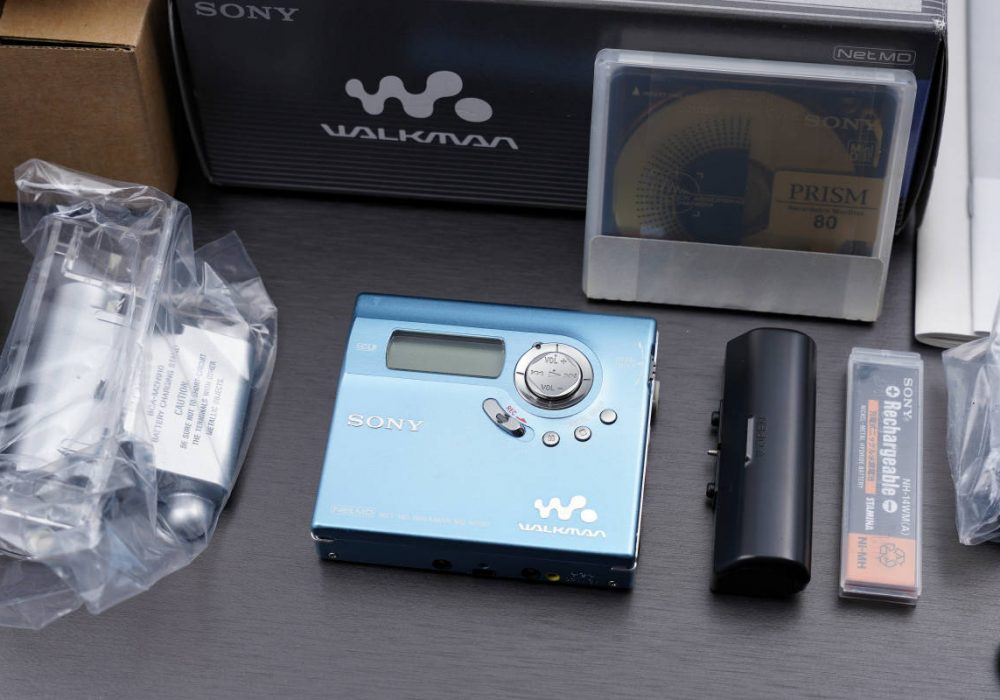 索尼 SONY MZ-N920 NET MD WALKMAN MD随身听