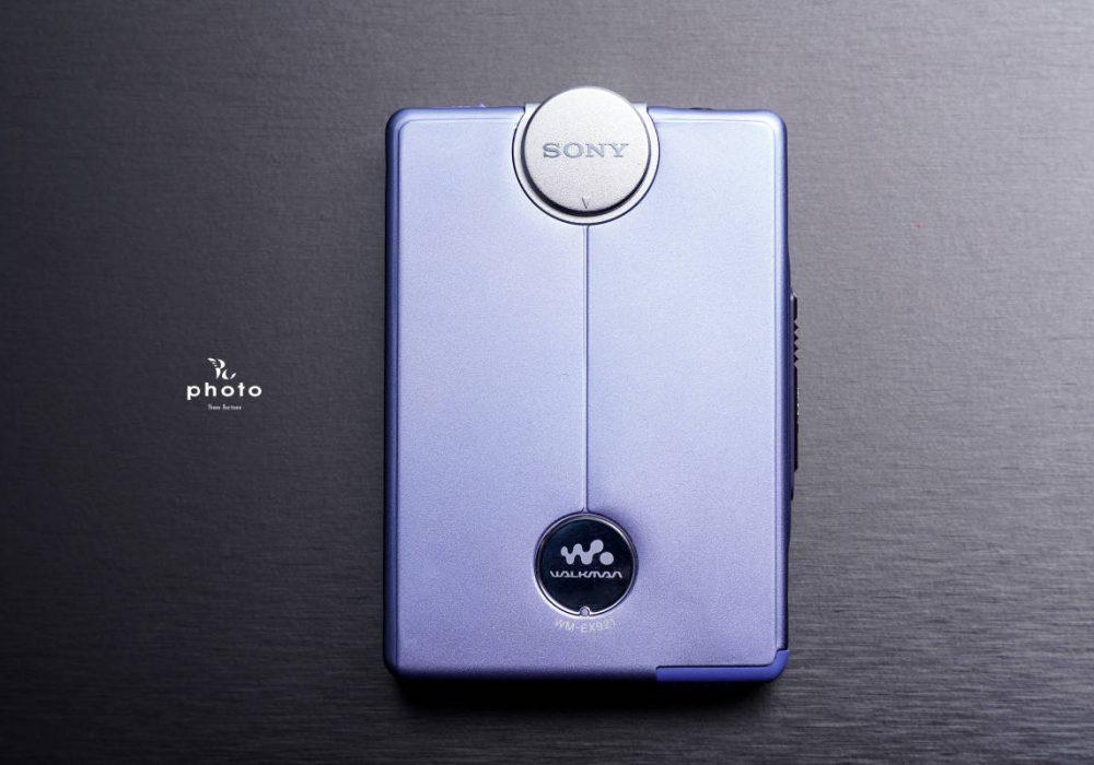 索尼 SONYWALKMAN 高音質便携カセット播放器 WM-EX921 Violet Blue