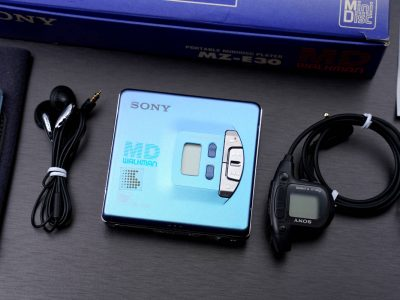 索尼 SONY MZ-E30 MD WALKMAN 便携 MD播放器 MD随身听