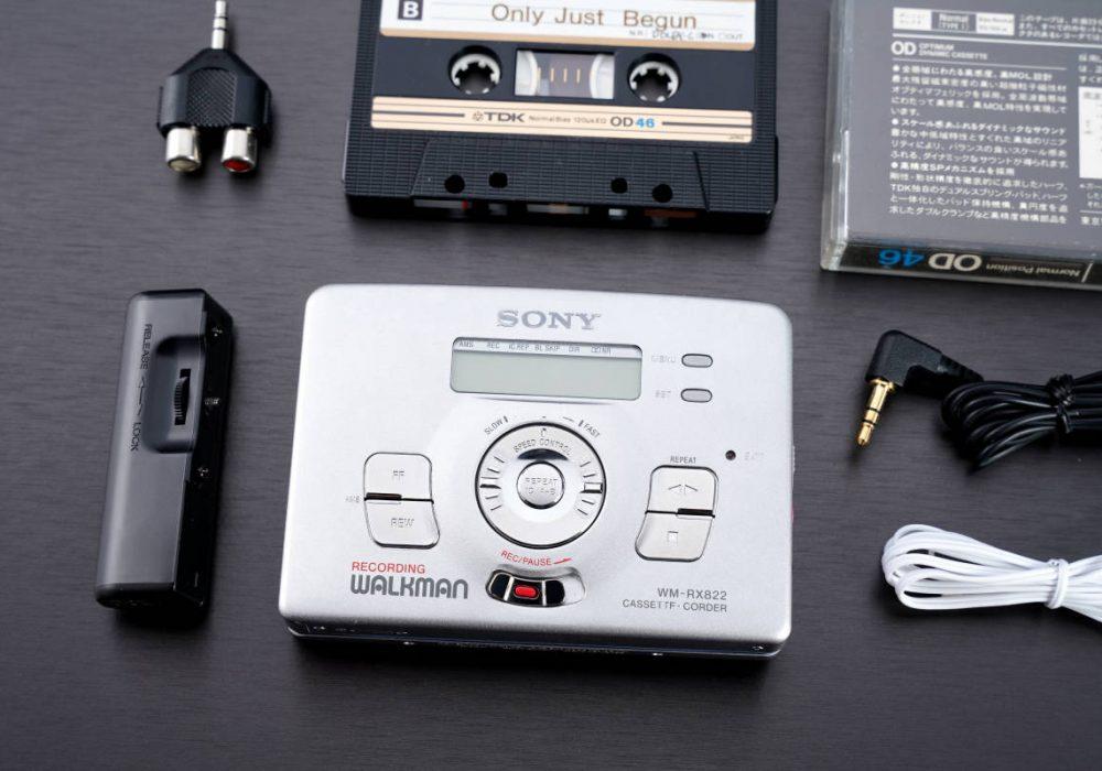 索尼 SONYWALKMAN 高音質録再機便携カセットレコーダー WM-RX822