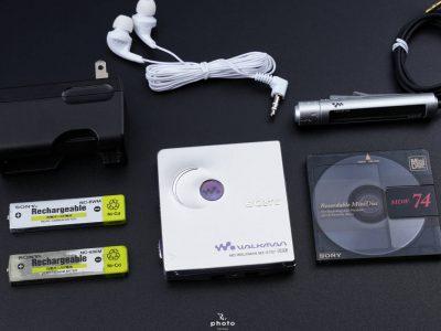 索尼 SONY MZ-E707 MD WALKMAN MD随身听