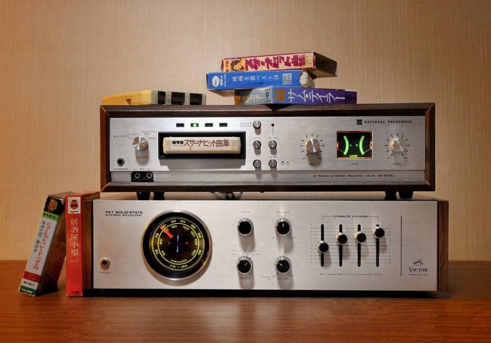 National RS-806U 8-Track 8轨 磁带卡座