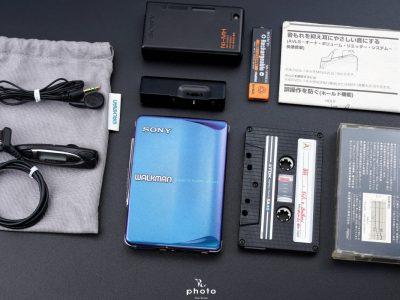 索尼 SONYWALKMAN便携カセット播放器 WM-EX9 マルチブルーカラー