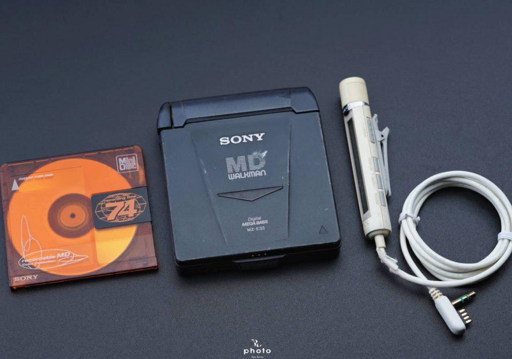 索尼 SONY MZ-E33 MD WALKMAN MD随身听
